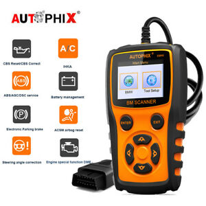 For Bmw Mini Obdii Code Reader Abs Airbag Sas Srs Epb Scanner Diagnostic Tools