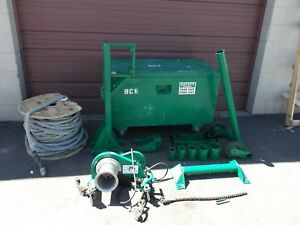 Greenlee 640 Cable Puller Tugger Wire 4000 Exc Cond 7 8 X 300 Braided Rope