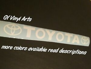 Toyota Trd Windshield Decal Car Sticker Banner Graphics