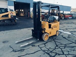 Hyster 3000 Lb Cap Cushion Tire Forklift 42 Forks 16 Lift Compact hd