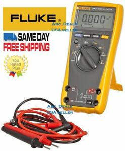 Fluke 177 Esfp True Rms Digital Multimeter With Backlight Test Lead Usa Seller