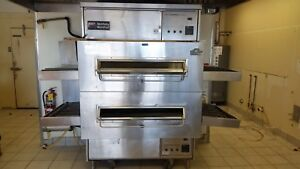 Middleby Marshall Ps360s Double Stack Pizza Oven Natural Gas Conveyors