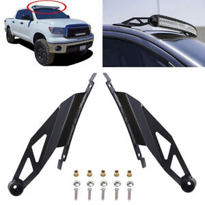 50 Curved Led Light Bar Roof Mounting Bracket For 07 14 Toyota Tundra Sequoia