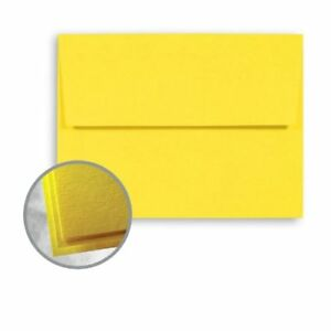Astrobrights Solar Yellow Envelopes