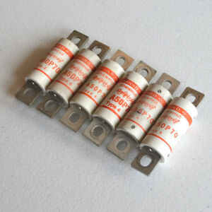 Lot Of 6 Gould Shawmut A50p70 Amp trap 70a 500v Type 4 Form 101 Fuses Tested