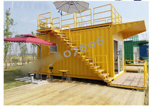 New Anti corrosion 4mx2 2mx2 3m Container House Home Office Hotel Shipped By Sea