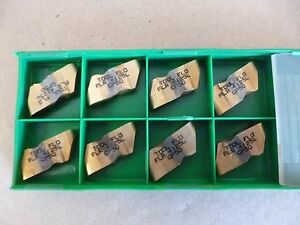 Tool flo Flr 4125l Carbide Inserts 8 Pcs Grade Gp50 Usa