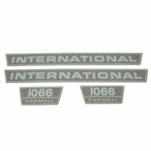 Decal Set 1066 International 1066