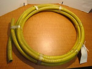 24 Ft Weatherhead H157112 100 Multi purpose Air 3 4 Hose 400 Psi Yellow New