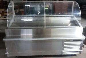 Traulsen Refrigerated Display Case Curved Glass