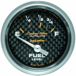 Autometer Fuel Gauge Gas New 4715