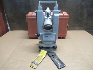 Lietz Sokkisha Model Dt5a Digital Theodolite Surveyor W Case Pre owned