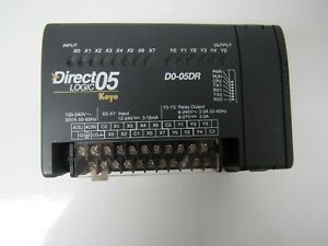 Direct Logic 05 Koyo D0 05dr Progremmable Controller Module