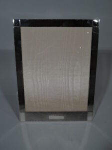 Cartier Frame Picture Photo Art Deco Modern American Sterling Silver