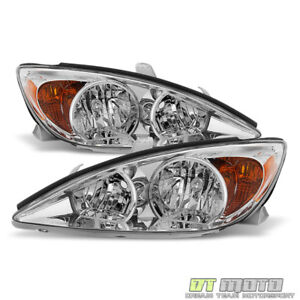For 2002 2003 2004 Toyota Camry Headlights Headlamps Replacement Lamp Left Right