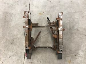 92 96 Ford Bronco Or Truck Bucket Seat Track Driver Left