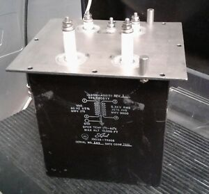 Axel High Voltage Transformer 5 3kv 0 107a 13058 tr802