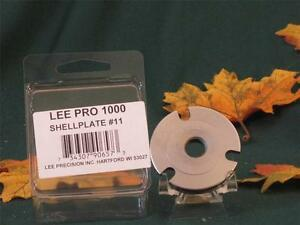 90657 Lee Pro Shell Plate #11  for Pro 1000 Press  44 Special 44 Mag 45 Colt