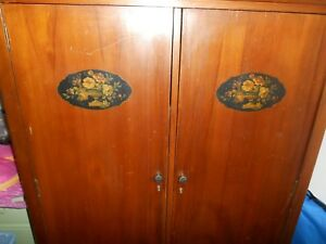 Antique Wardrobe Cabinet