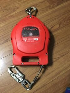 Miller Falcon Self retracting Lifeline Mp50g z7 50ft Used