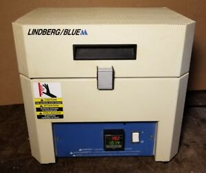 Lindberg Blue m Tf55030a Hinged Tube Furnace Oven