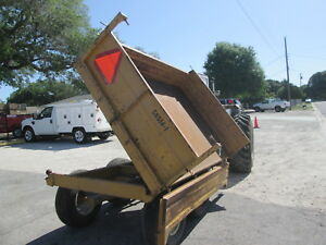 2012 Taylor way Farm Style Dump Trailer for Farm Use Not Made For The Highway