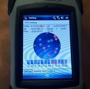 Hemisphere Gnss Xf1 Data Collector With Built in Gps