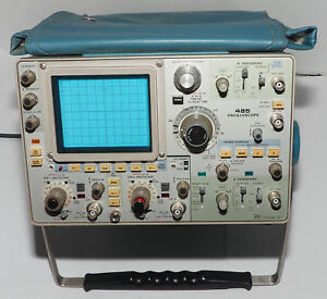 Tektronix 485 Oscilloscope As Is For Parts Or Repair Does Not Turn On