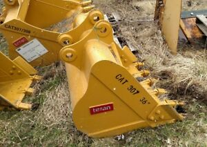 Heavy Duty Cat 307 36 Excavator Digging Bucket 45mm 1 3 4 Pins