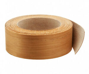 Wood Veneer Edgebanding Edge Tape Banding Pre glued 2 X 25 Teak
