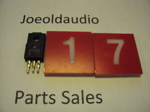 Transistor D1266 Pulled Part Tested With Curve Tracer Sold As Pictured