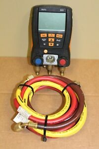 Testo 550 Refrigeration Hvac Digital Manifold
