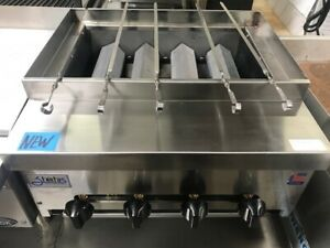 New 24 Shish Kebab Gas Broiler Grill Stratus Skb 24 8114 Commercial Restaurant