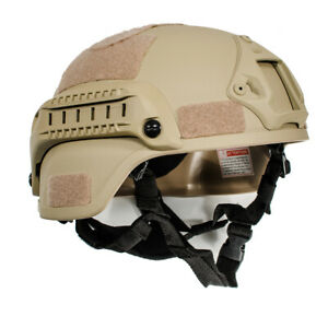 Tactical Airsoft Paintball Climbing Protective Combat FAST Helmet New $26.29