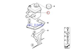 Bmw Genuine Radiator Intercooler Expansion Tank Expansion Tank E70 E71