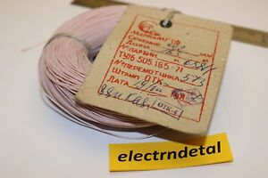 185m 606 Ft 0 12mm 26awg Teflon Ptfe Copper Wire Mgtf Ussr