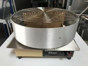 New Pizza Deli Shrink Wrapping Machine Wisco 630 8127 Commercial Wrapper Retail