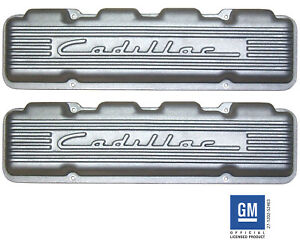 Cadillac Caddy Vintage Cast Aluminum Valve Covers 331 365 390 429 1949 1967