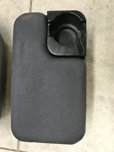 1998 2004 Ford Ranger Medium Gray Center Console W cup Holder 2 bolt Style 98 04