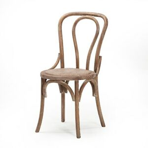No 18 Bentwood Cafe Style Dining Chair Distressed