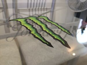 Brand New Authentic Monster Energy Drink Sticker Decals Sign Logo Bmx Motocross