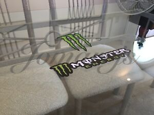 2 Mix Monster Energy Drink Logo Emblem Stickers Decal Bmx Motocross