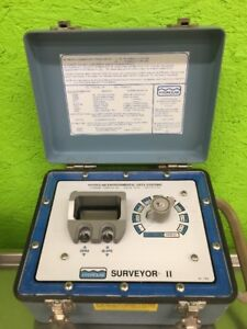 Hydrolab Surveyor Ii 2 Environmental Data System Water Conductivity Tester