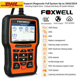 Car Obd2 Scanner Full System Abs Srs Sas Epb Dpf Tpms Oil Reset Diagnostic Tool
