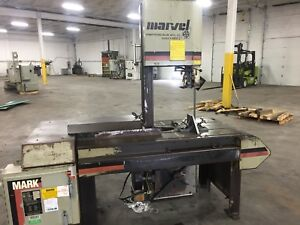 Marvel Vertical Bandsaw Series 8 Mark Ii Vertical Tilt Frame Band Saw 18 X 20