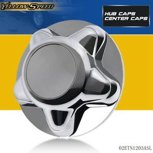 7 Chrome Wheel Hub Cap Center Cover For 97 2003 Ford F150 Expedition Steel Rim