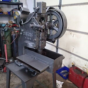 Perkins 1 a 5 Ton Punch Press