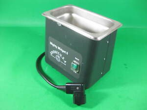 Grobet Usa Ultrasonic Cleaner Mighty Midget Ii 1 Pint Used