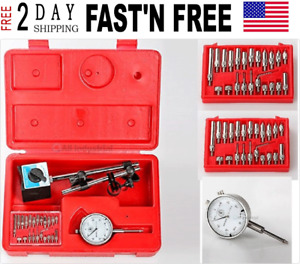 Dial Indicator Set Test 001 With On off Magnetic Base Supply Magnetic New Usa
