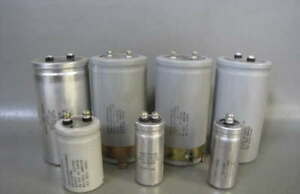 7 Electrolytic Capacitor Lot Philips Ge Mepco centralab Sprague Vdc Uf